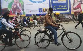 Cycles for green mobility in Millennium City of India