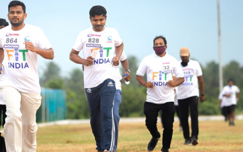 Fit India Freedom run begins in Kerala