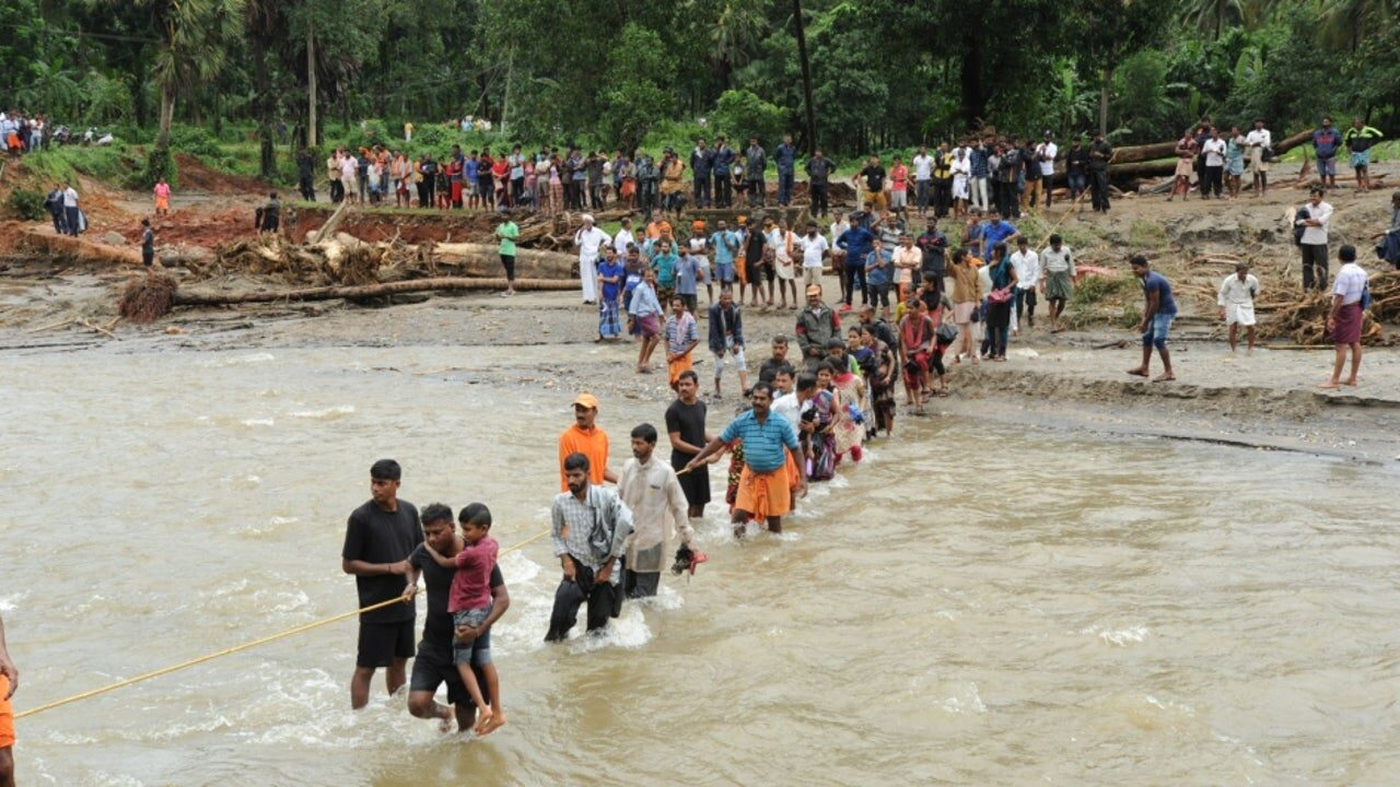 UN report says India third most disaster-prone country