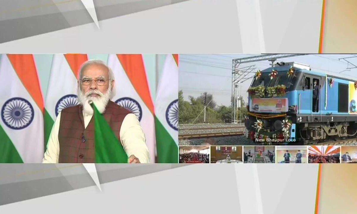 PM inaugurates exclusive freight corridor