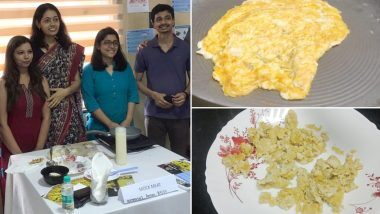 IIT-D wins UNDP's contest with plant-based mock egg to face malnutrition