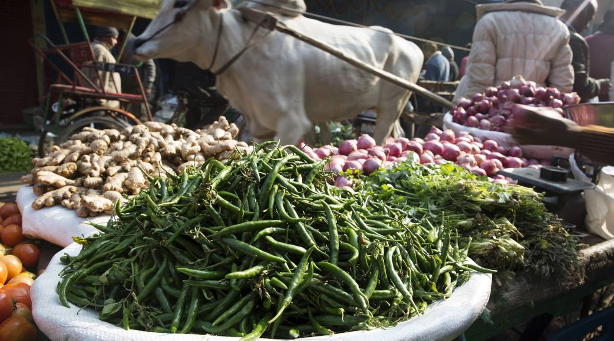 Retail inflation eases to 6.93% in November