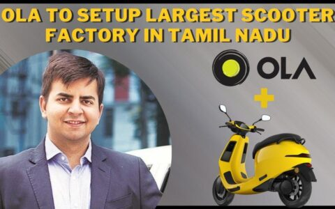 World's largest electric scooter factory to be set up in Tamil Nadu