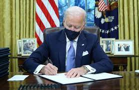 Biden issues order for US to rejoin Paris Climate Agreement