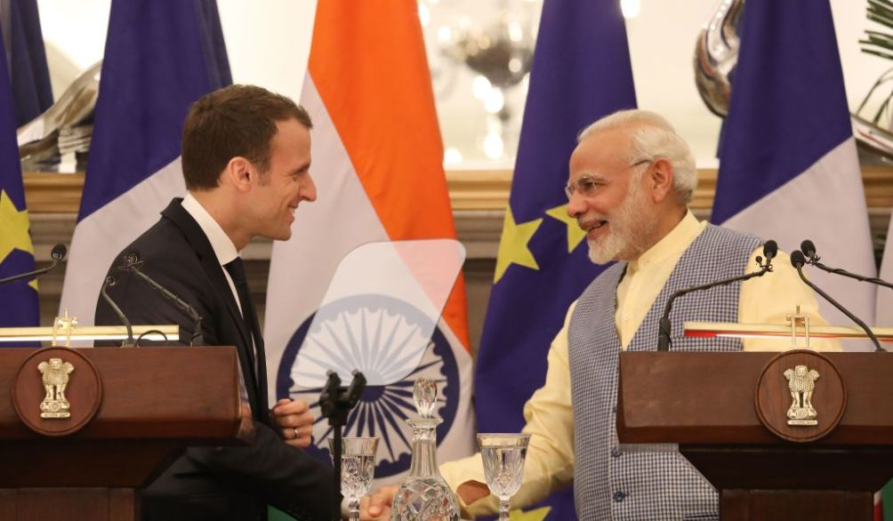 India, France begin initiative to improve ties in sustainable development