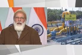 Gas pipeline for Kerala and Karnataka inaugurated by PM Modi