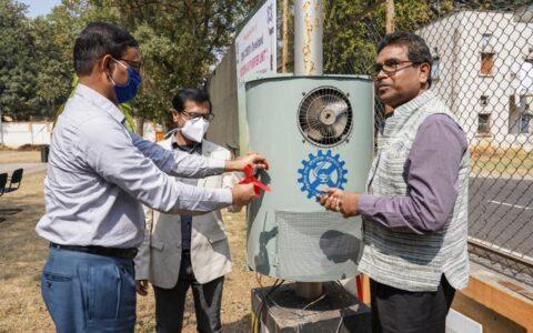 CSIR-CMERI launches outdoor air purifier at residential campus